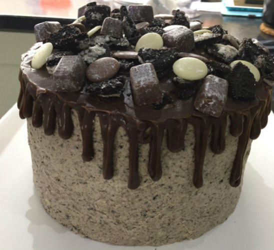 Chocolate speckle cake by LucyyBakes