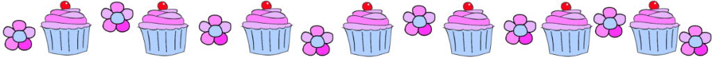 cupcakes and flowers by LucyyBakes